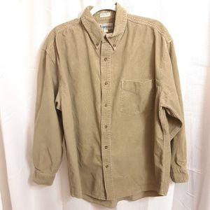 Aeropostale Long Sleeve Button Down Cortar…
